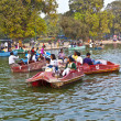 Enjoy boating on the artifical lake near the Indian Gate — Stock Photo #8897391