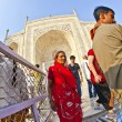 Royalty-Free Stock Photo: Indian visit Taj Mahal in India