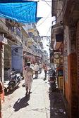 Riksze na ulicach — Zdjęcie stockowe