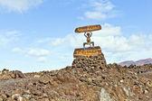 Parque nacional de timanfaya en lanzarote, islas canarias, españa — Foto de Stock