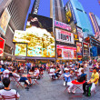 Times Squares  is a symbol of New York City — Stok fotoğraf