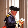 ������, ������: Ceremony for declaration of independence in old costumes takes p