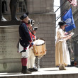 Ceremony for declaration of independence in old costumes — Stock Photo #8932736