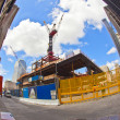 Construction site in Ground Zero, New York - Stock Photo