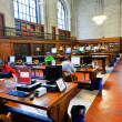 Inside famous old New York Public Library — Stock Photo #8932918