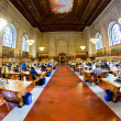Inside famous old New York Public Library — ストック写真