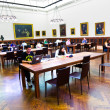 Inside famous old New York Public Library — Stock Photo #8933033