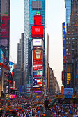 Times Squares is a symbol of New York City — Stock Photo