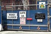 Construction site in Ground Zero, New York — Stock Photo