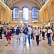 Grand central station during the afternoon rush hour - Stock Photo