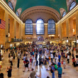 Grand central station during the afternoon rush hour — Stock Photo