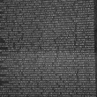 Stock Photo: Names of Vietnam war casualties on Vietnam War Veterans Memorial