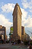 Flatiron building in New York — Stock Photo