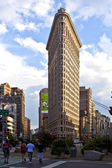 Flatiron building in New York — Stock Photo
