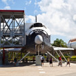 The original space shuttle Explorer  at Kennedy Space Center — Stockfoto