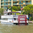Cruise with Carrie B paddlewheel riverboat in Fort Lauderdale — Stock Photo #8988063