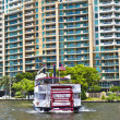 Cruise with Carrie B paddlewheel riverboat in Fort Lauderdale — Stock Photo #8988152
