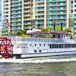 Cruise with Carrie B paddlewheel riverboat in Fort Lauderdale — Stock Photo #8988155