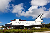 The original space shuttle Explorer at Kennedy Space Center — Stock Photo