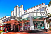 Famous Colony Art Deco Theater im South Miami — Stock Photo