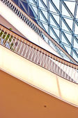 Modern architecture in the new shopping center Myzeil — Stock Photo