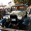 Beautiful oldtimer take place in the MTK Classics 2011 — Stock Photo