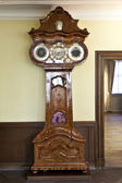 Historic clock in the Goethe museum — Stock Photo