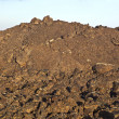 Stock Photo: Volcanic stones in national park Timanfaya