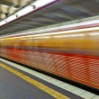 Train in motion — Stock Photo #9298988
