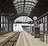 Railway station in Wiesbaden — Foto de Stock