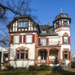 Historic villa in Frankfurt — Stock Photo