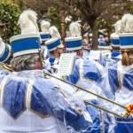 The carnival Parade moves through the city — Stock Photo #9527976