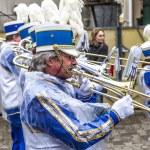The carnival Parade moves through the city — Stock Photo #9528189
