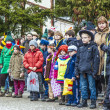 Spectators watch the carnival  Parade — Stockfoto