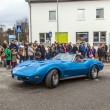 An old stingray takes part at The carnival  Parade - ストック写真