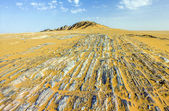 Stone desert im Yemen near Marib — Stock Photo