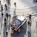 ������, ������: Van for garbadge disposal