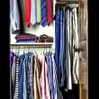 Wardrobe of a man - Stock Photo