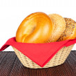 Basket of bagels — Stock Photo