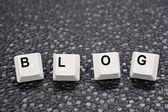 Blog keys — Stock Photo
