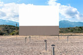 Drive in theater — Stock Photo