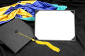 Graduation diploma — Stock Photo