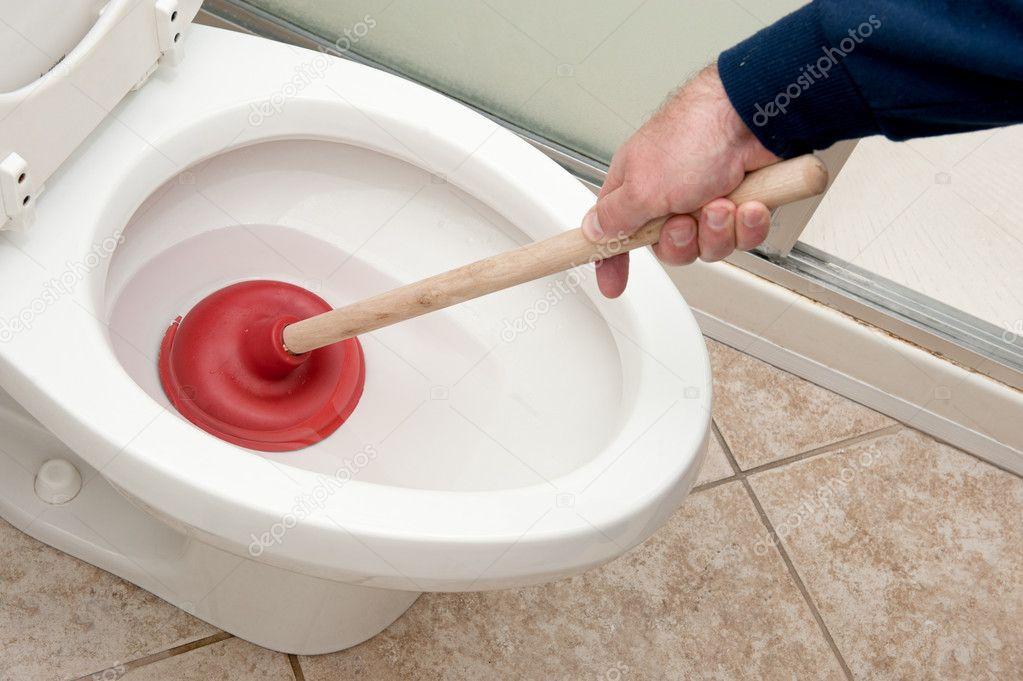 Забился унитаз как в домашних условиях прочистить его