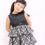 小小的亚洲女孩 — 图库照片