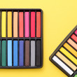 Stock Photo: colorful crayons