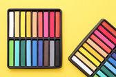 Colorful crayons — Fotografia Stock