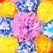Paper flowers - Stock Photo