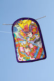 Japanese traditional paper kite — Stock Photo