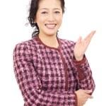 Ασιατικός επιχειρησιακός γυναίκα — Φωτογραφία Αρχείου