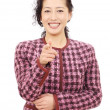 Portrait of asian businesswoman — Stock Photo